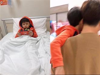 Thu Thuỷ bức xúc vì thái độ khám bệnh tại một bệnh viện, nhưng đắt nhất là chi tiết về chồng trẻ và con trai