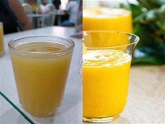 Thức uống giúp thải sạch độc tố ruột già, ngăn ngừa ung thư lại giảm cân cực nhanh