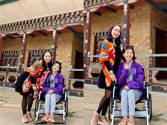 Thương bạn như Ốc Thanh Vân, đưa Mai Phương đi Bhutan cầu bình an sức khỏe, để 3 con ở nhà cho chồng lo