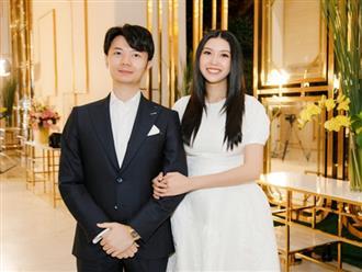 Thuý Vân lần đầu dự sự kiện cùng ông xã đại gia sau sinh: Comeback với nhan sắc ấn tượng, body giờ ra sao?