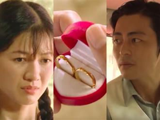 """""""Tiếng sét trong mưa"""": Hôn say đắm em gái xong, con trai Thị Bình mua nhẫn cưới xin ba Khải Duy được lấy vợ"""