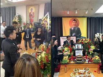 Lộ những hình ảnh đầu tiên trong đám tang Anh Vũ tại Mỹ: Nghệ sĩ và fan rơi nước mắt đến viếng