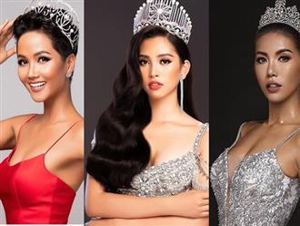 """Tiểu Vy hành động """"lạ"""" khi Minh Tú bị """"dìm"""" ở Miss Supranational 2018"""