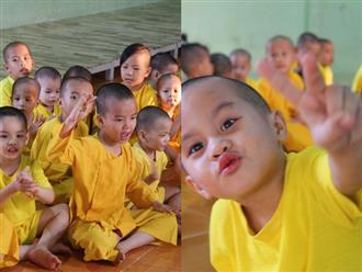 Tình hình hiện tại của bé não úng thủy Đức Lộc cùng với hơn 100 đứa trẻ bị bố mẹ bỏ rơi ở mái ấm Đức Quang