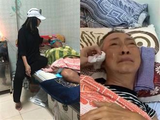 Cát Phượng tiết lộ bệnh tình của nghệ sĩ Lê Bình: 'Sốt cao, nói mê sảng, không còn ăn uống gì được'