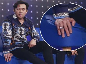 Trấn Thành khoe nhẫn kim cương được Hari Won tặng trên truyền hình, nhưng sự thật ai cũng ngã ngửa