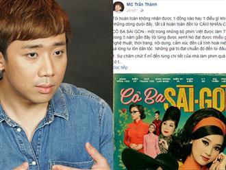 Thanh niên livestream lén 'Cô Ba Sài Gòn': Trấn Thành bức xúc đòi phạt nặng, đọc status ai cũng choáng