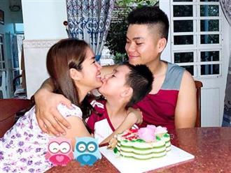 Trung Kiên khiến Lê Phương 'cười tít mắt' trong ngày sinh nhật vì món quà 'có 1 không 2'