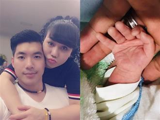 Gần 1 năm kết hôn với vợ đại gia, Trương Nam Thành đón hẳn cặp song sinh, lộ hình ảnh đầu tiên của em bé