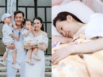 Tuấn Hưng hé lộ hình ảnh đầu tiên của vợ và con trai mới sinh, sao Việt ùn ùn chúc mừng