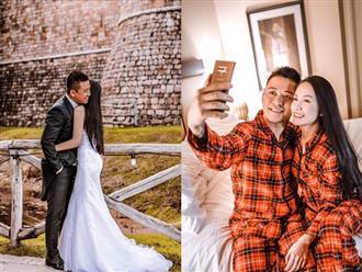Tung ảnh cưới ngọt ngào, Tuấn Hưng khiến bà xã Thu Hương 'tan chảy' vì quá khéo nịnh