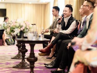 """Tùng Dương nói về tin đồn """"bằng mặt nhưng không bằng lòng"""" với Hà Anh Tuấn"""