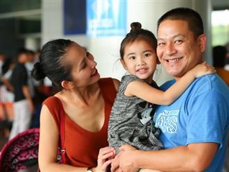 Cùng chồng con về nước, 'Út Ráng' Kim Hiền gặp ngay vấn đề này khi vừa xuống máy bay