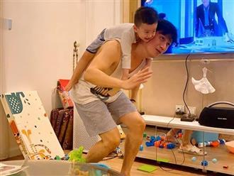 Việt Anh trải lòng chuyện ly hôn, nói về trách nhiệm của một người bố với con trai