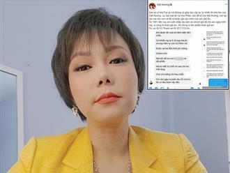 Việt Hương gay gắt mắng 'thứ không có giáo dục', chuyện gì khiến cô tức giận đến vậy?