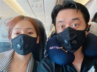 Virus Corona lây lan nhanh chóng, sao Việt bịt khẩu trang kín mít đi du Xuân