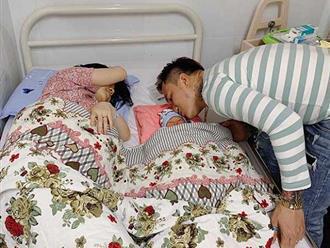 Vợ 9x của ca sĩ Lâm Chấn Huy sinh con trai đầu lòng