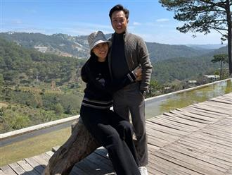 Vợ chồng Cường Đô la 'trốn' con gái đi chơi, thoải mái ôm ấp tình tứ bên nhau