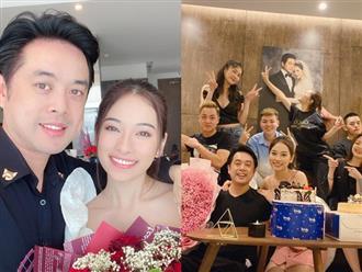 Vợ chồng Dương Khắc Linh khoá môi cực tình, cùng hội bạn Đăng Khôi quậy tưng bừng dịp sinh nhật