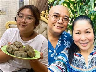Vợ chồng Hồng Vân - Tuấn Anh tự hào khoe con gái út giỏi giang, diện mạo cô bé ở tuổi 12 gây chú ý
