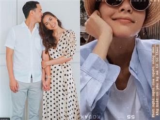 """Vợ chồng Tăng Thanh Hà """"trốn con"""" đi hẹn hò riêng nhưng ghen tị nhất vẫn là dòng trạng thái """"đánh dấu chủ quyền"""" của người đẹp"""