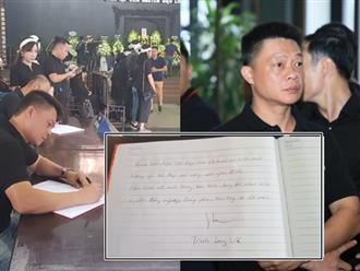 Vô cùng xúc động với dòng tâm sự trong cuốn sổ tang do BTV Quang Minh, BTV Long Vũ gửi gắm cho nữ MC Diệu Linh lần cuối