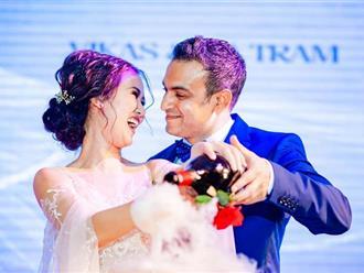 Võ Hạ Trâm gửi lời ngọt ngào đến chồng doanh nhân Ấn Độ sau đám cưới