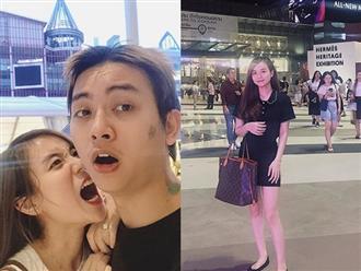 Vợ Hoài Lâm đăng ảnh cùng chồng ở Thái Lan