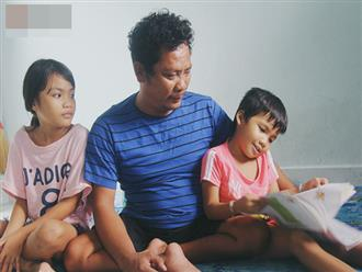 Vợ ngại khổ, bỏ lại chồng tật nguyền cùng 2 đứa con gái thơ dại trong căn chòi xập xệ để đi tìm hạnh phúc mới