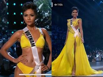 Với màn xoay váy 'thần thánh', H'Hen Niê chiếm trọn spotlight trong đêm bán kết Miss Universe 2018