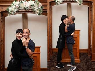 Vừa sang Mỹ đăng ký kết hôn, Xuân Lan tuyên bố: 'Em là người duy nhất gọi anh là chồng'