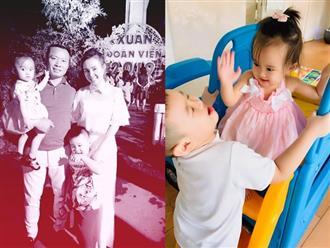Vy Oanh kể chuyện Tết của hai con: 'Xém đánh nhau vì giành ông bà nội'
