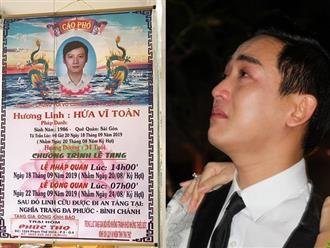 Xót xa khi biết nguyên nhân em trai Hứa Vĩ Văn qua đời ở tuổi 34, bỏ lại vợ và 2 con thơ dại