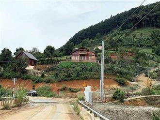 Xử lý hàng chục căn nhà xây trái phép trên đất rừng tại Lâm Đồng