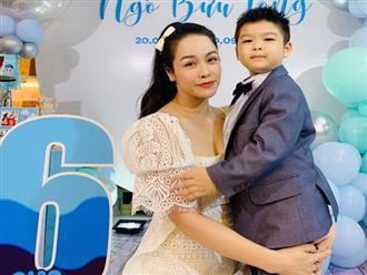 Xuống nhà chồng cũ mừng sinh nhật con trai, Nhật Kim Anh tiết lộ bị giám sát vô cùng khắt khe