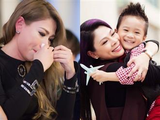 Yêu thương nuôi dưỡng từ bé, Thanh Thảo 'nước mắt lưng tròng' khi phải xa con trai nuôi