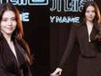 Han So Hee khoe vòng 1 hững hờ, tiết lộ tăng đến 10kg để hóa đả nữ trong bom tấn hành động mới