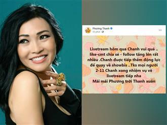 Sau 10 năm 'giã từ sô chậu', Phương Thanh bất ngờ tuyên bố... sẽ 'trở lại Showbiz'