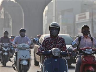 Hà Nội bị ô nhiễm không khí, bác sĩ cảnh báo khẩu trang y tế cũng không thể ngăn chặn