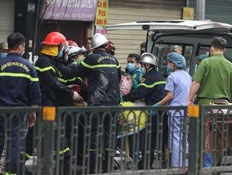 Cả 4 thi thể trong vụ cháy cửa hàng sơ sinh đều biến dạng và nằm ở tầng tum