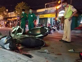 TP.HCM: Người đàn ông bị thanh niên chạy tốc độ cao tông tử vong khi đang chở bé trai qua đường