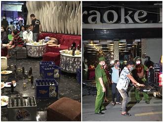 An Giang: 1 quán karaoke vẫn mở cửa đón khách, có hành vi chống người thi hành công vụ, bất chấp lệnh tạm ngừng hoạt động