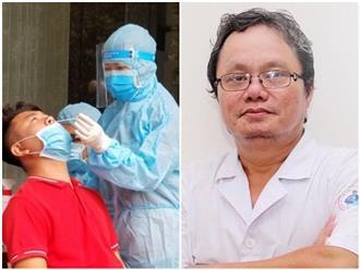 Bác sĩ Trương Hữu Khanh đưa ra lời khuyên chăm sóc bệnh nhân COVID-19 tại nhà, khuyến cáo đặc biệt về biện pháp xông hơi bằng tinh dầu