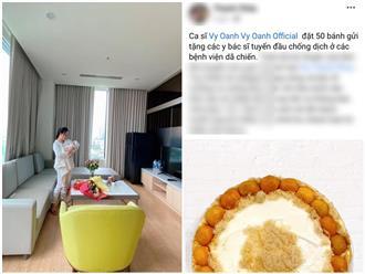 Bận bịu chăm con, Vy Oanh vẫn khiến người hâm mộ nức lòng vì hành động âm thầm, có ý nghĩa giữa mùa dịch