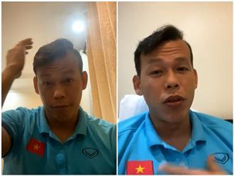 Bùi Tấn Trường livestream nóng: 'Trận nào thi đấu không tốt tôi buồn lắm mọi người'