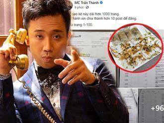 Chỉ một hành động nhỏ, Trấn Thành lại tiếp tục hứng trọn rổ 'gạch đá' từ netizen: Chụp sao kê bằng điện thoại 'cổ lỗ sĩ'