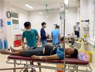 3 con bạc nhảy lầu trốn công an, bị chấn thương nặng phải nhập viện