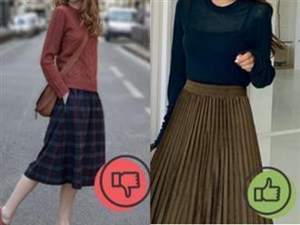 """Dáng thấp nhưng vẫn mê váy dáng dài, cần nhớ 2 tips này để tránh """"lùn một mẩu"""""""