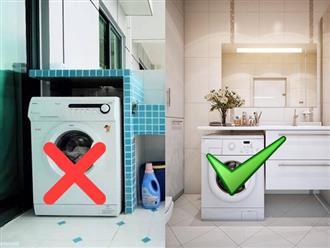 Đặt máy giặt đúng phong thủy giúp gia chủ hút TÀI LỘC về chật nhà, chuyên gia lưu ý đặc biệt 2 vị trí tuyệt đối TRÁNH