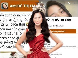 Đời tư gần như 'sạch bong kin kít' nhưng Đỗ Thị Hà bất ngờ bị lập hội anti, dân tình mỉa mai 'Hoa hậu 0 đồng'